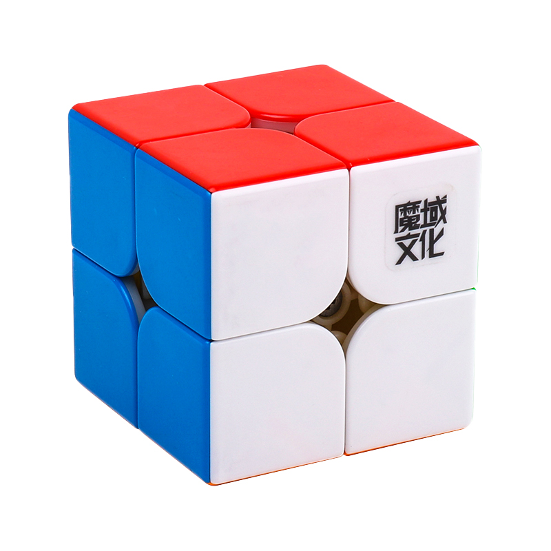 MoYu 2x2 WeiPo WRM stickerless | Кубик МоЮ WR M 2x2 магнитный