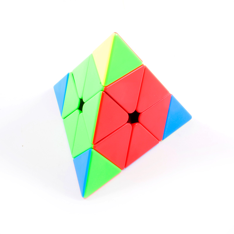 Купить MoYu Meilong Jinzita Pyraminx stickerless | Пирамидка Мейлонг без наклеек