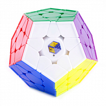 Фото YuXin Little Magic Megaminx V2 color | Юксин мегаминкс - Магазин головоломок Кубик
