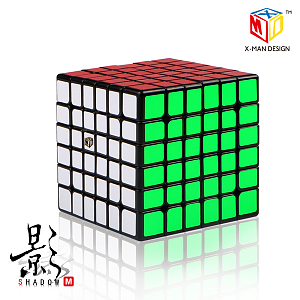 Фото QiYi X-Man 6x6 Shadow black | Кубик 6х6 - Магазин головоломок Кубик